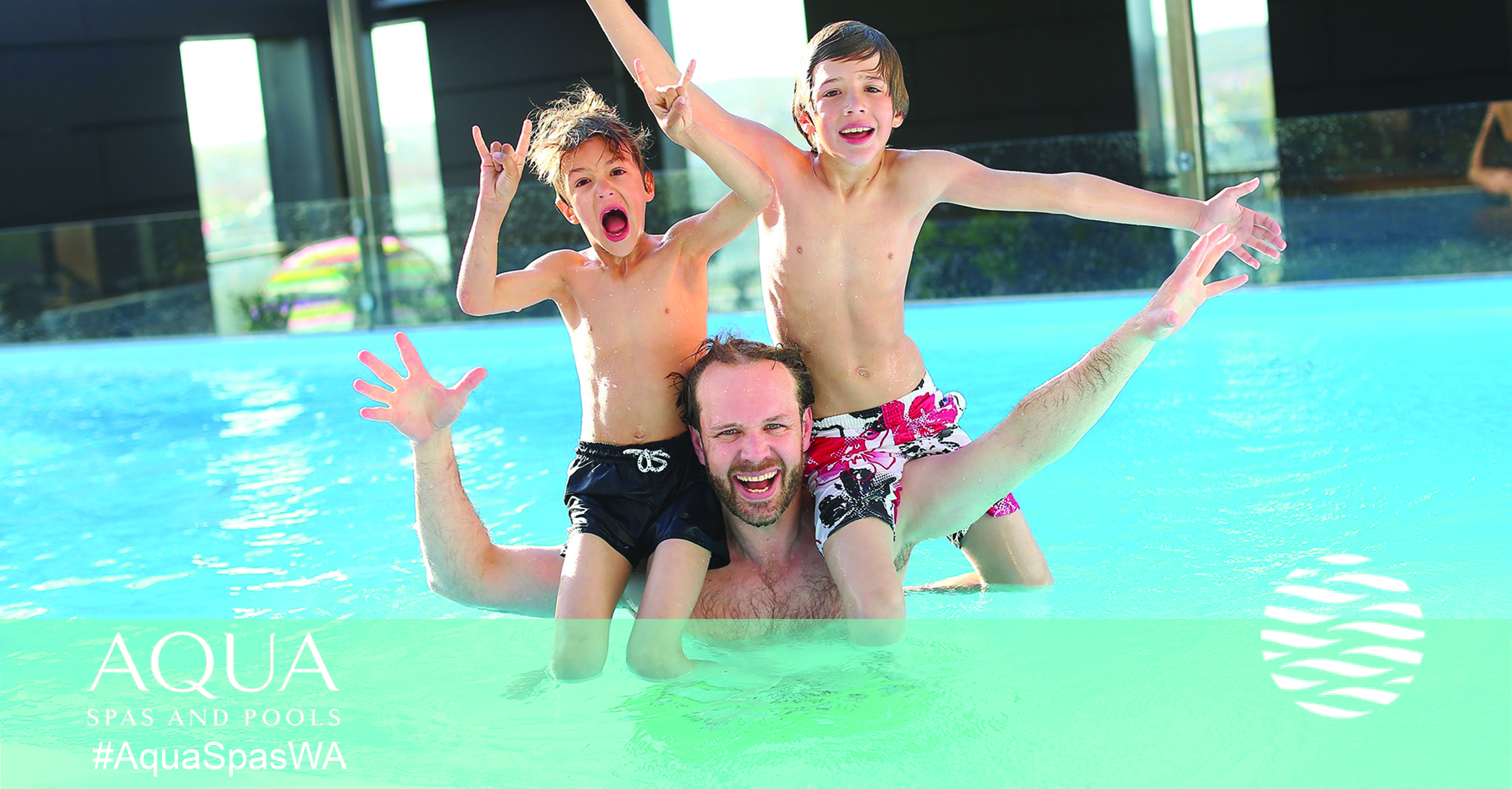 Family pool fun | Aqua Spas and Pool