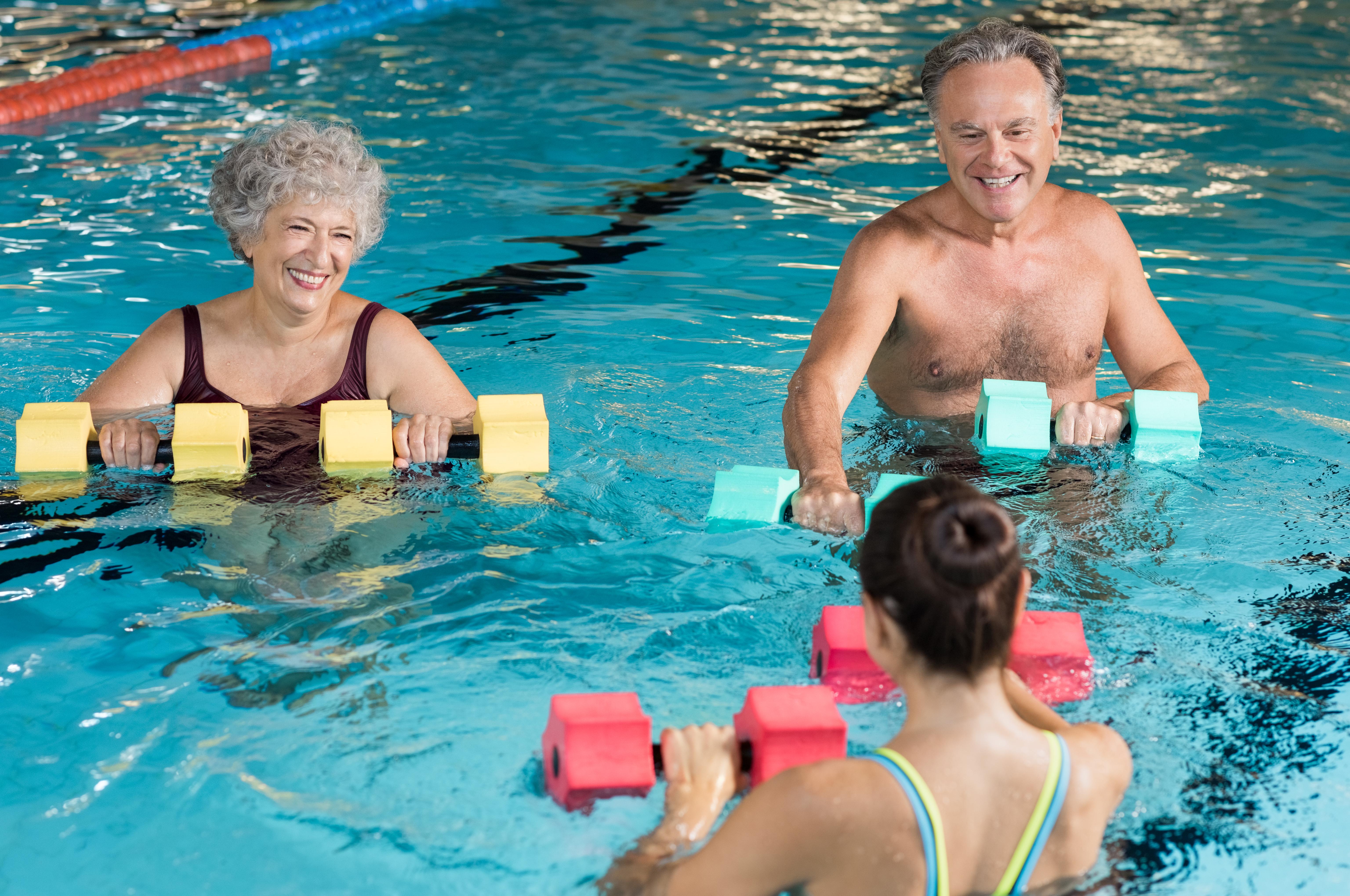 Pool Fitness Activities
