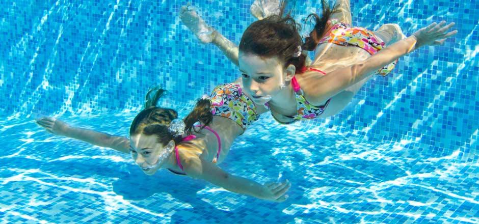 Slide 1 - pool