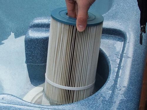Hot tub filter types