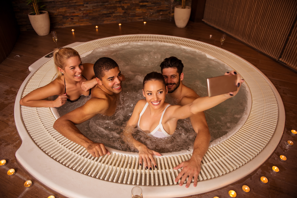 hot tub entertainment